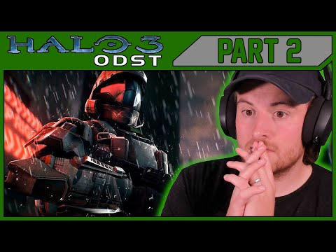 Royal Marine Plays HALO 3 ODST For The First Time! PART 2!