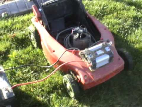 Cordless Electric Lawn Mowermpg YouTube
