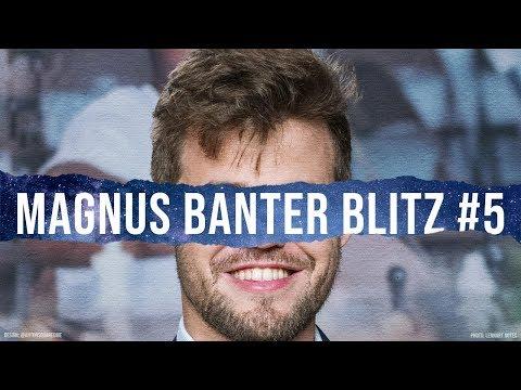 Banter Blitz with World Champion Magnus Carlsen (5)