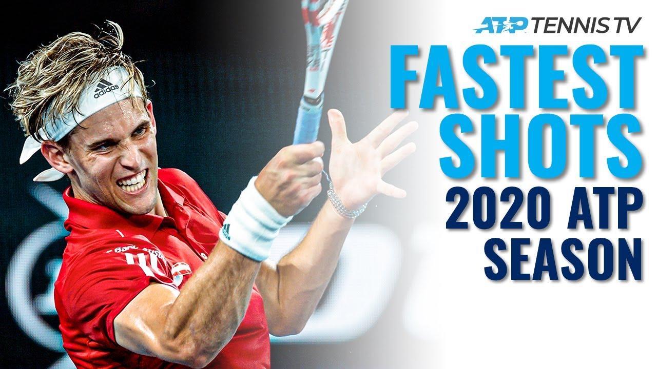 Fastest ATP Tennis Shots & Winners In 2020! 💥