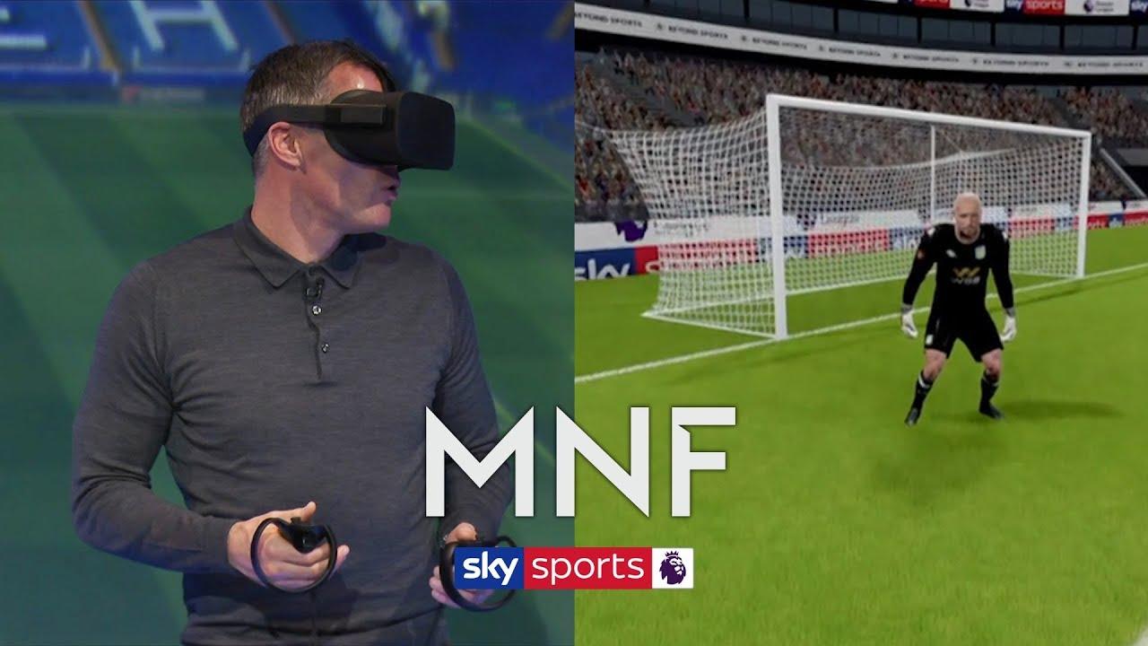 Jamie Carragher analyses Heung-Min Son's winner against Aston Villa through VR | MNF
