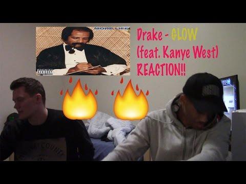 Drake - Glow (feat. Kanye West) (REACTION!)