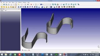 FreeCAD 0.16  Differences between Extrude Offset and Thickness