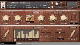 AudioThing Toy Marimba Walkthrough