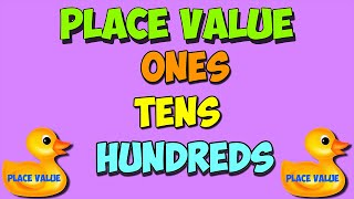place value math song: ones, tens, hundreds thumbnail