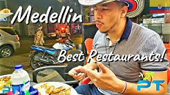 MEDELLIN COLOMBIA - Best Restaurants To Try!!!