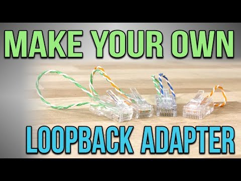 Learn To Make Your Own Loopback Plug Or Loopback Adapter!