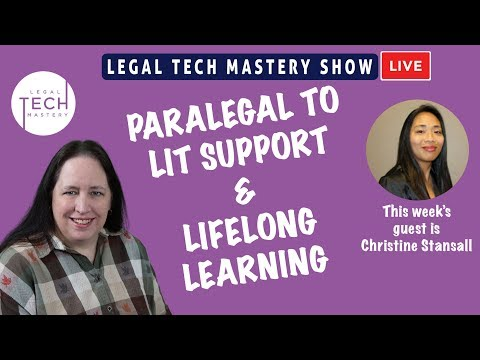 Paralegal To Lit Support And Lifelong Learning S03E05