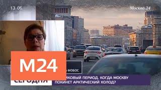 Синоптики предупредили москвичей о морозах в воскресенье - Москва 24
