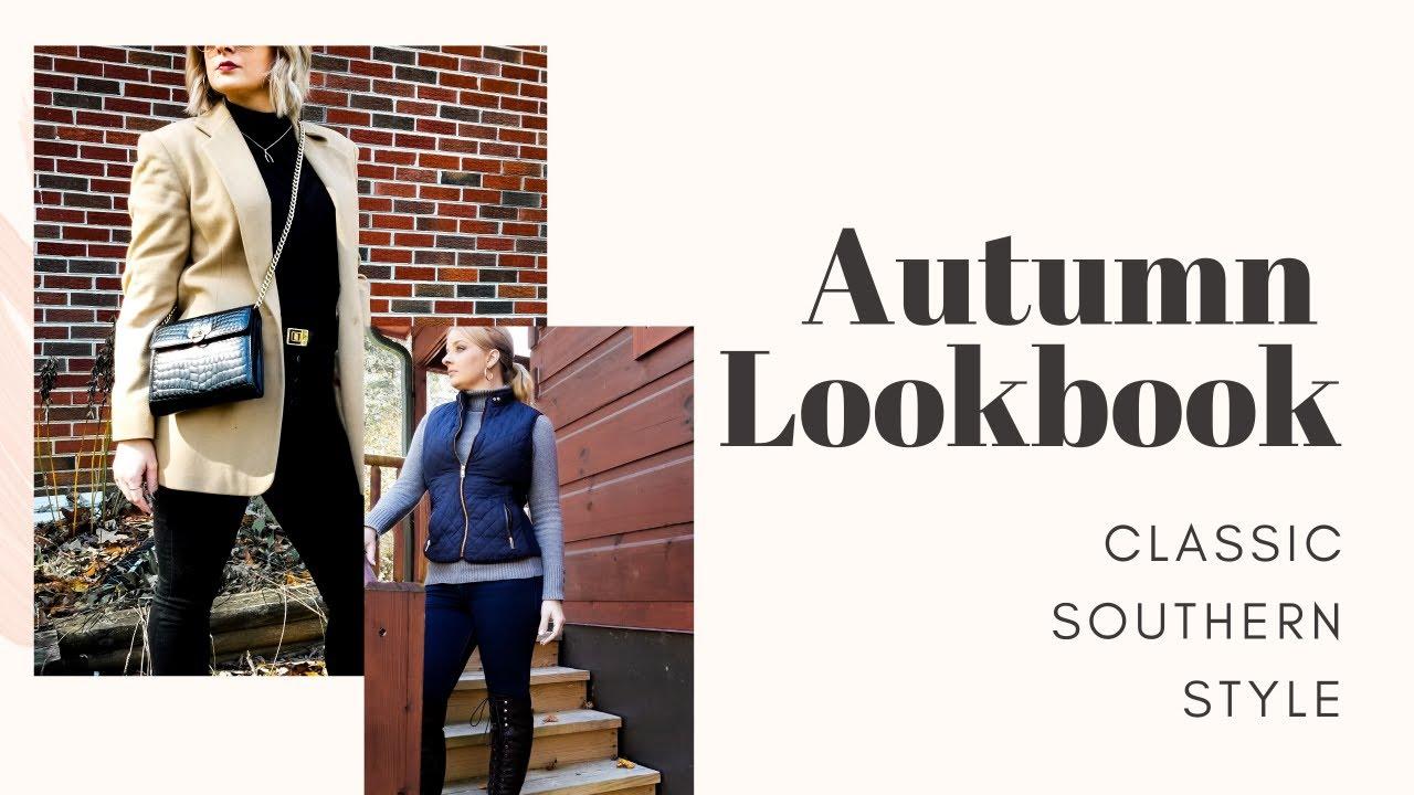 [VIDEO] - Fall 2019 Lookbook-  Classic Autumn Style 8