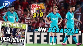 Le Barça dans la tourmente après sa défaite à Granada | Revue de presse