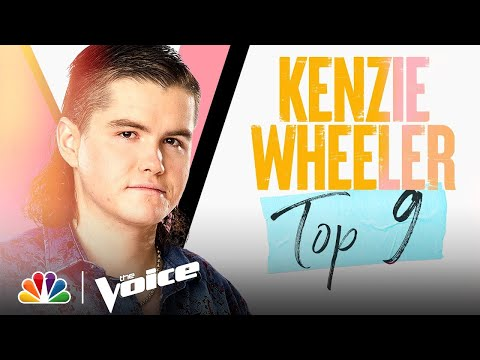 "Mullet Man Kenzie Wheeler Gives Memorable Performance Of ""He Stopped Loving Her Today"" On 'The Voice'"