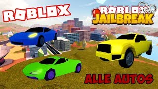 Jailbreak we have all the cars to buy the remaining cars | Roblox