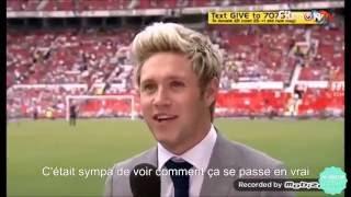 Louis Tomlinson et Niall Horan pour Soccer Aid - VOSTFR Traduction Française