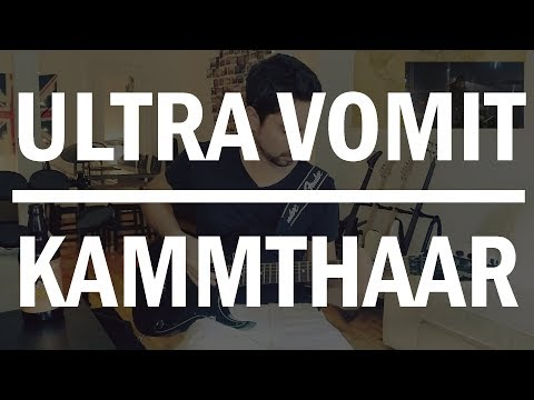 ULTRA VOMIT - KAMMTHAAR [GUITAR COVER]