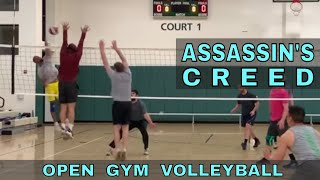 Assassin's Creed | Open Gym Volleyball (4/11/19) PART 1