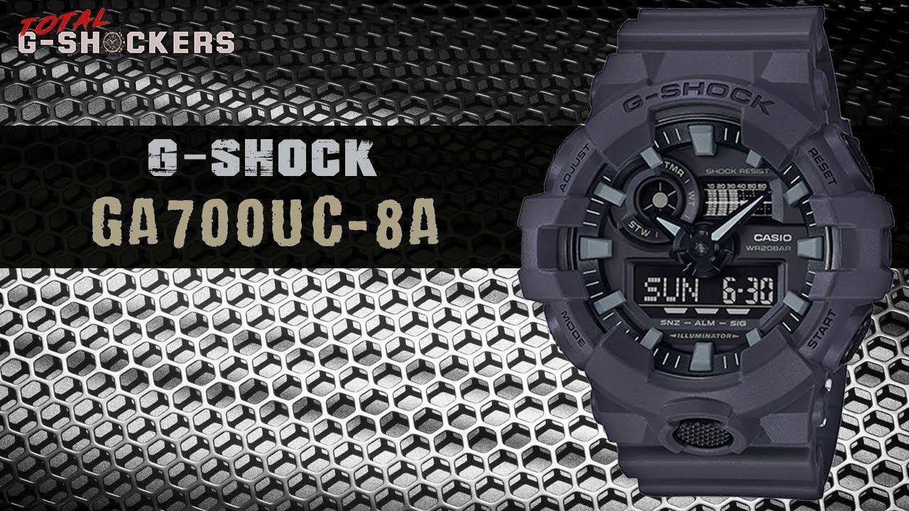 39652a12ec34 Casio G-SHOCK Analog Digital GA700UC-8A | Top 10 Things Watch Review ...