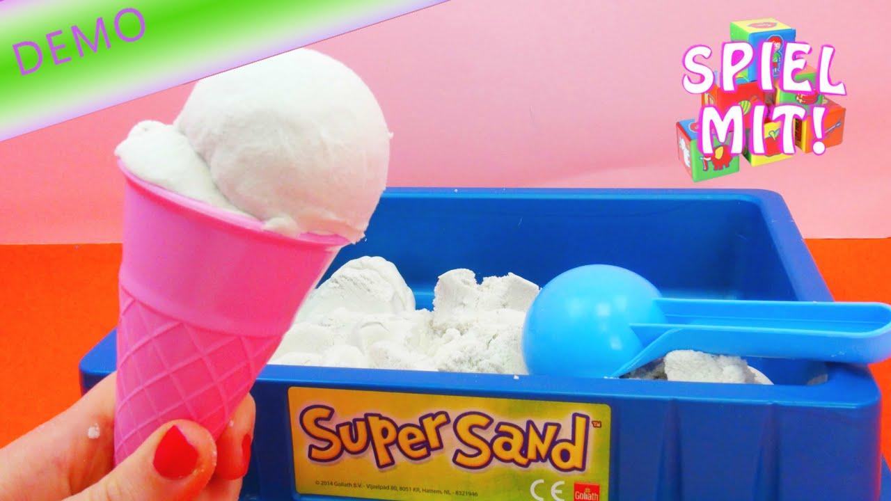 super sand sands alive goliath eiskugeln machen making ice cream with sands alive deutsch. Black Bedroom Furniture Sets. Home Design Ideas