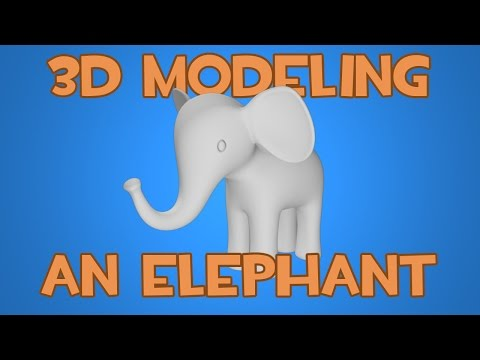 How to 3D Model an Elephant in Maya