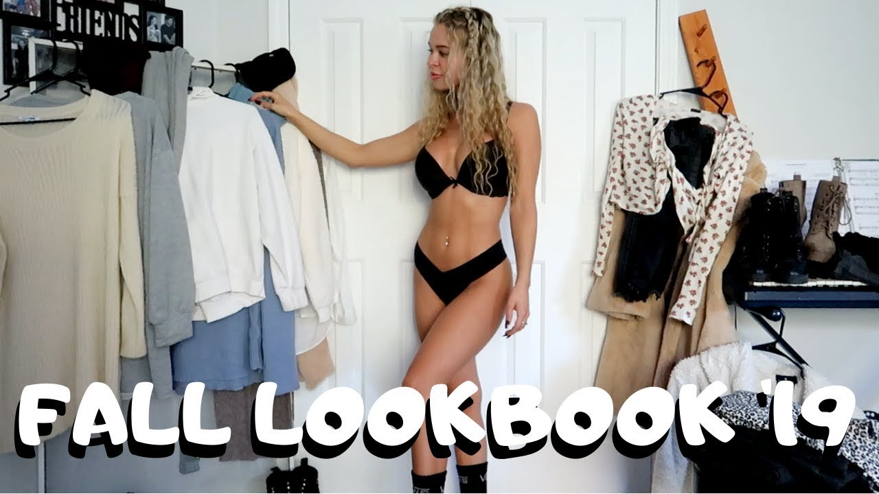 [VIDEO] - FALL LOOKBOOK 2019//CASUAL FALL OUTFITS 6