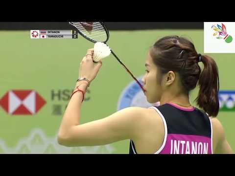 รัชนก อินทนนท์ไทยมือ5 vs อากาเนะ ยามากูชิญี่ปุ่นมือ4 รอบรองฯ โยเน็กซ์ซันไรส์ ฮ่องกงโอเพ่น 16 พ ย