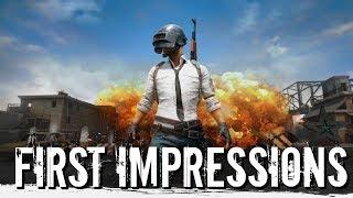 PlayerUnknown's Battlegrounds (PUBG) - First Impressions