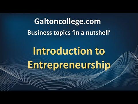 N0901L  Introduction to Entrepreneurship