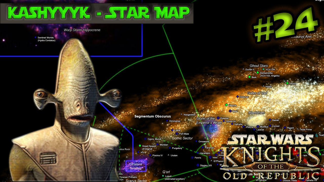 Star Wars KoTOR (Heavily Modded) - Lets Play Part 24 - Kashyyyk Star Kashyyyk Star Map on yoda star map, taris star map, dromund kaas star map, star wars star map, kamino star map,