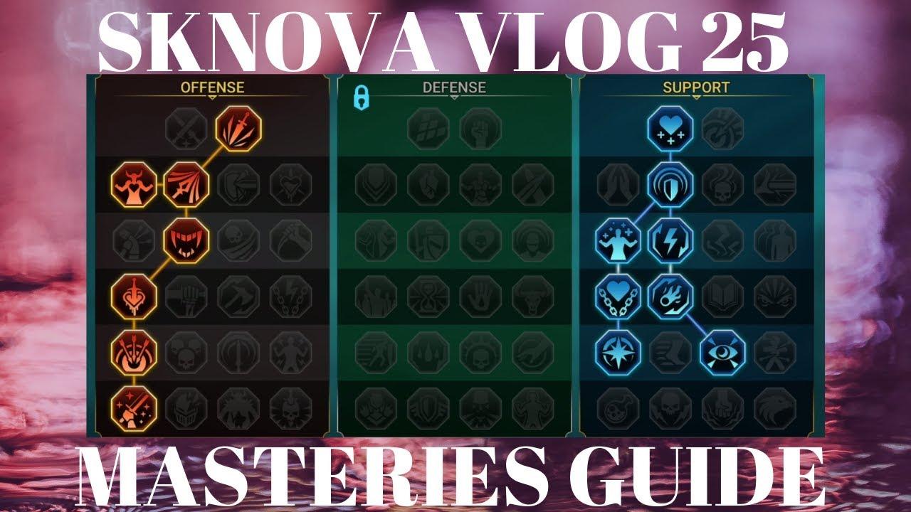 SKNOVA VLOG 25 - Masteries Guide Mp3 indir - Video indir Bedava
