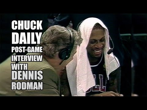 Chuck Daly Post-Game Interview with Dennis Rodman