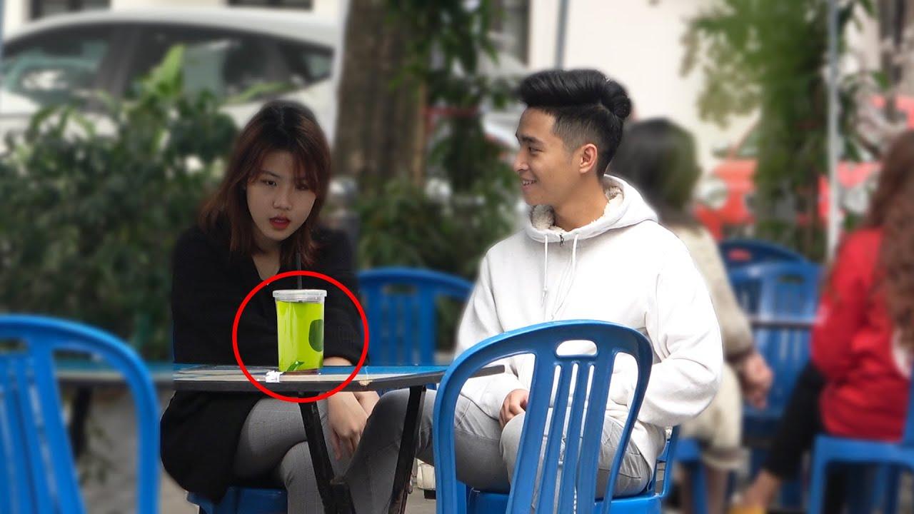 Ai uống trộm Trà Xanh ? Who drink my Green Tea Prank