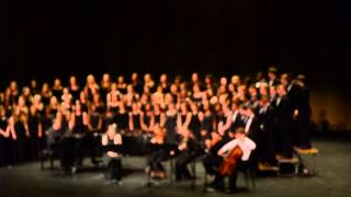 nashville school of the arts choir with or without you