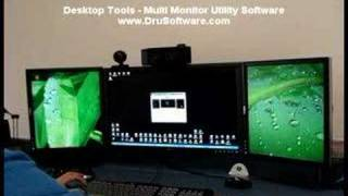 Desktop Tools - Multi Monitor Utility Software