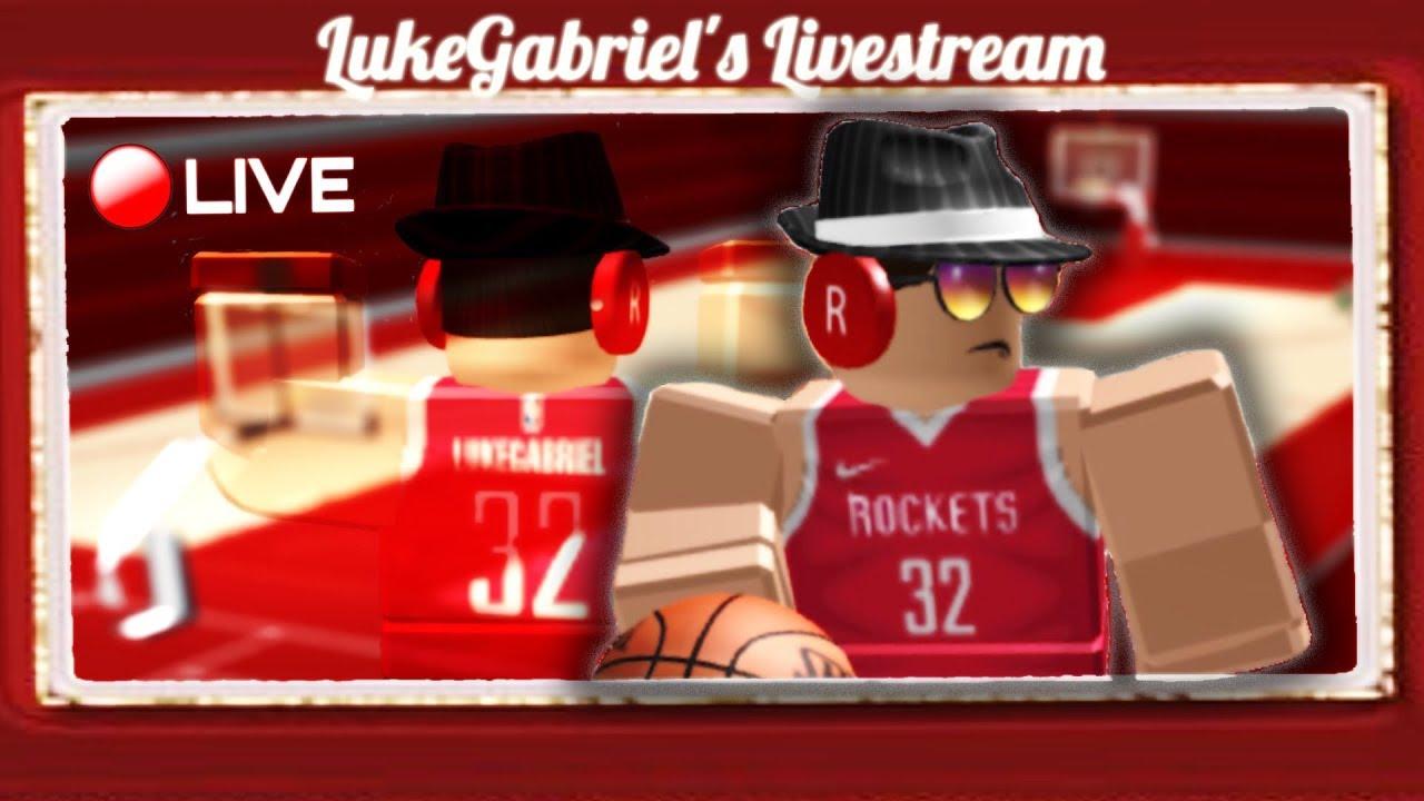 Playing Roblox Basketball Games 03 12 19 Youtube