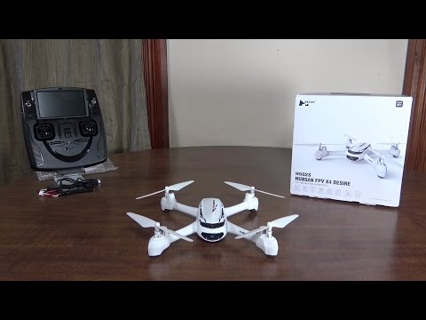 Hubsan - FPV X4 Desire (H502S) - Review and Flight