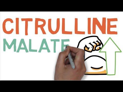 Citrulline Malate : What Does Citrulline Malate Do?