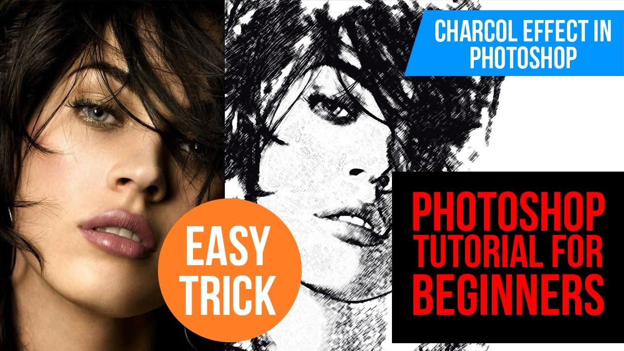 Photoshop beginners tutorial charcoal photo effects and easy photoshop beginners tutorial charcoal photo effects and easy method baditri Image collections