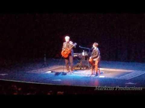 Pat Benatar and  Neil Giraldo Singing at the Palms Pearl Concert Theater