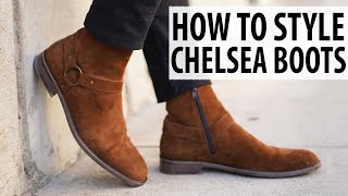 HOW TO STYLE CHELSEA BOOTS | Men's Outfit Inspiration and Ideas | Alex Costa