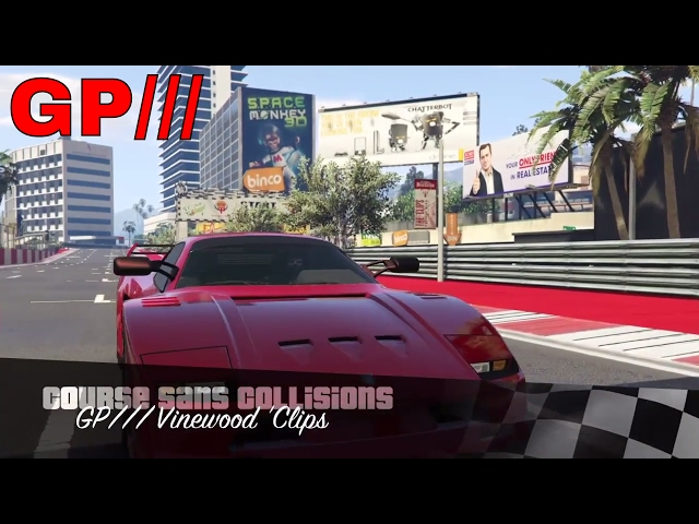 GP/// Vinewood 'Clips - Racetrack Showcase (GTA Online - PS4) Turismo Classic