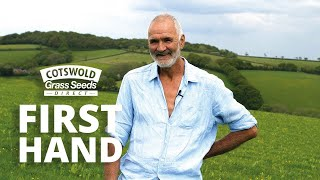 SPECIAL HERBAL LEY for Overseeding Mixture with Martin Chatfield - Cotswold Seeds First Hand