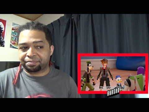 KINGDOM HEARTS III – D23 2017 Toy Story Trailer REACTION!!