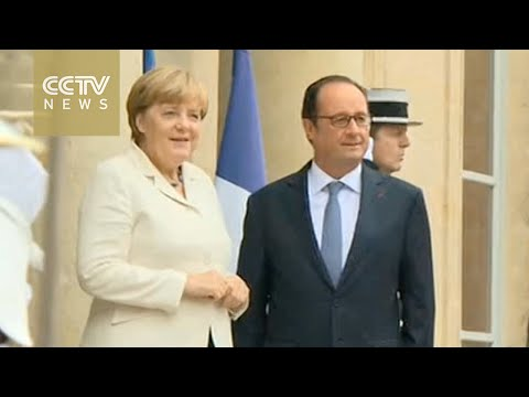 Merkel and Hollande meet ahead of EU summit in Bratislava