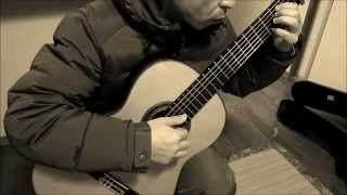 Distance original song for classical guitar by YASUpochiGuitar