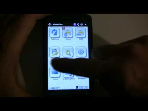 I-Mate Go interface on HTC touch HD and Diamond