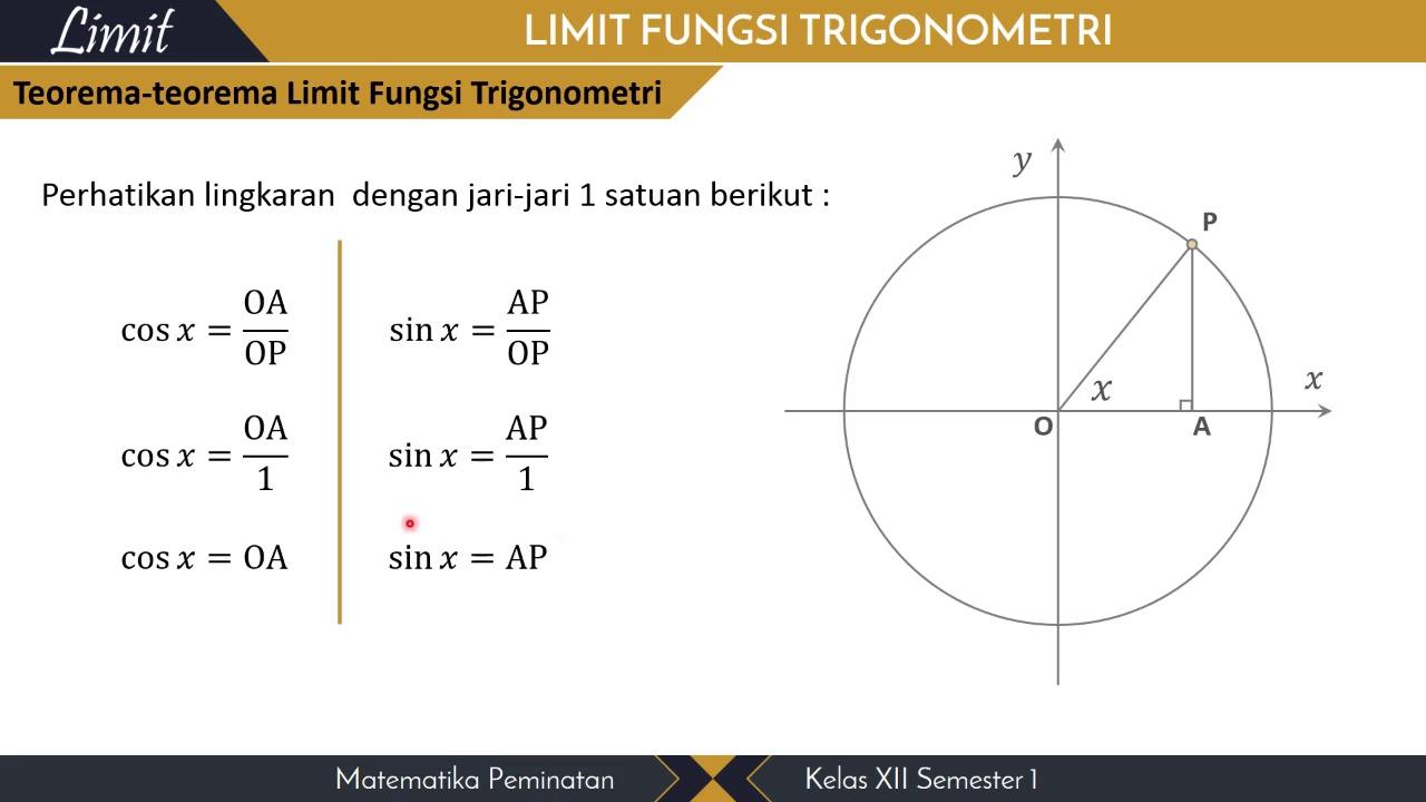 2 limit fungsi trigonometri youtube 2 limit fungsi trigonometri ccuart Gallery