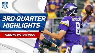 Saints vs. Vikings Third-Quarter Highlights | NFL Week 1