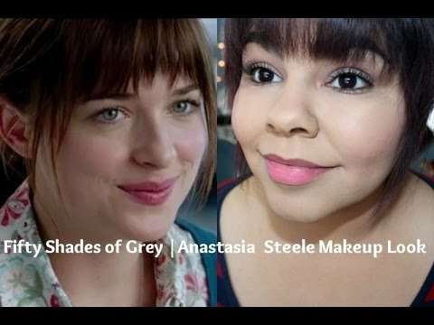 fifty shades of grey anastasia steele makeup look youtube. Black Bedroom Furniture Sets. Home Design Ideas