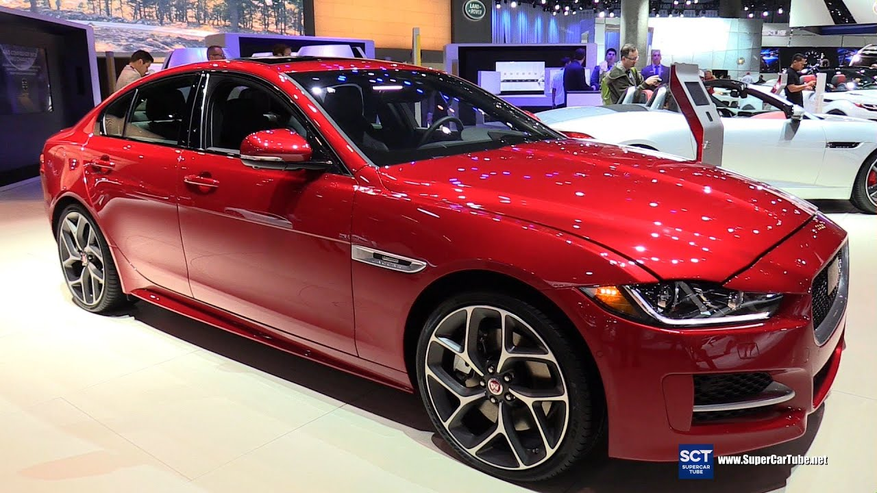 2016 jaguar xe r sport exterior and interior walkaround 2015 la auto show youtube. Black Bedroom Furniture Sets. Home Design Ideas