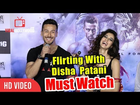 Flirting With Disha Patani | Tiger Shroff | Baaghi 2 Official Trailer